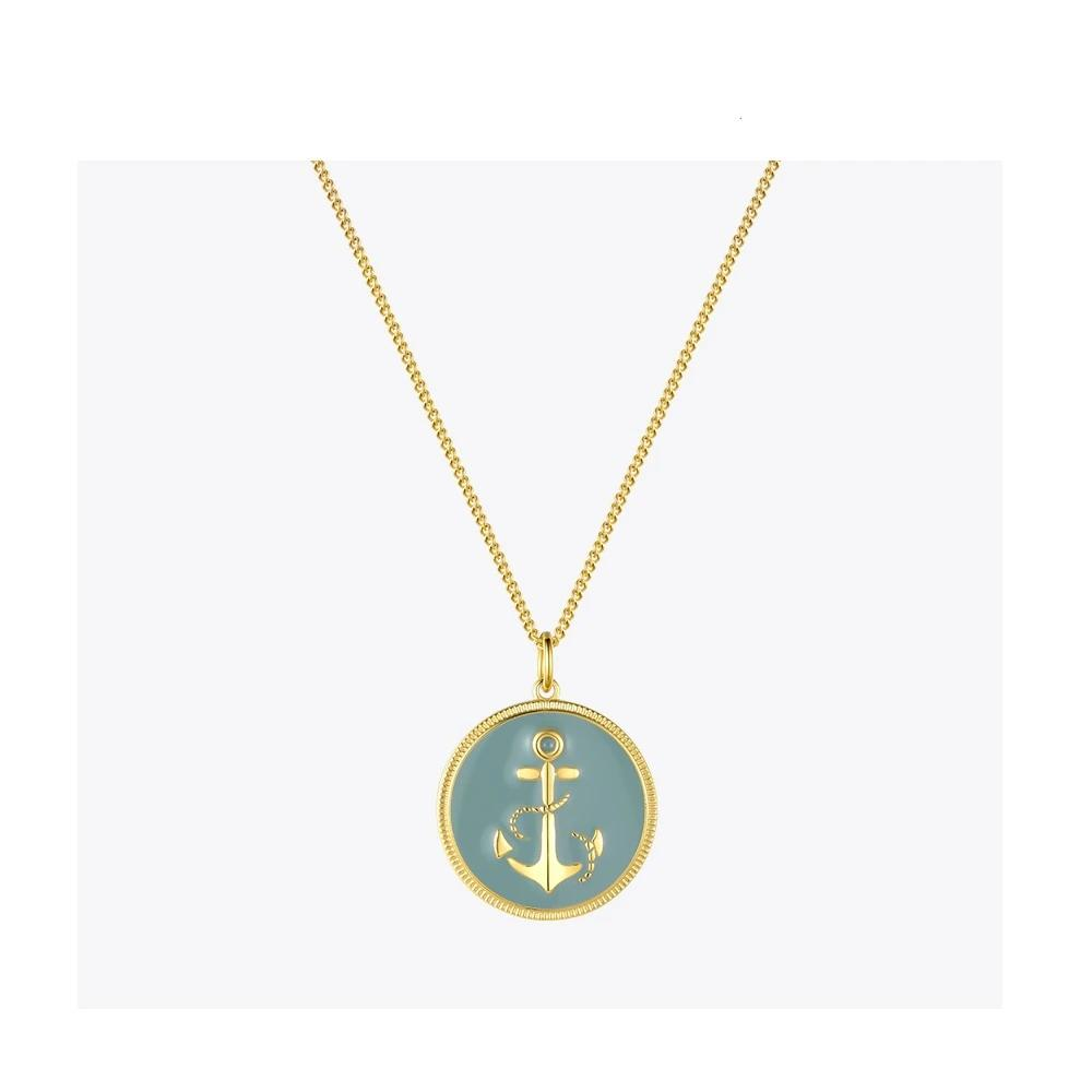 Punk Anchor Pendant Necklace , jewellery- Gilly and Bae