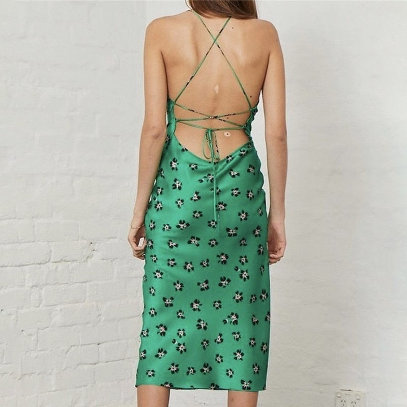 Bianca Dress in Green