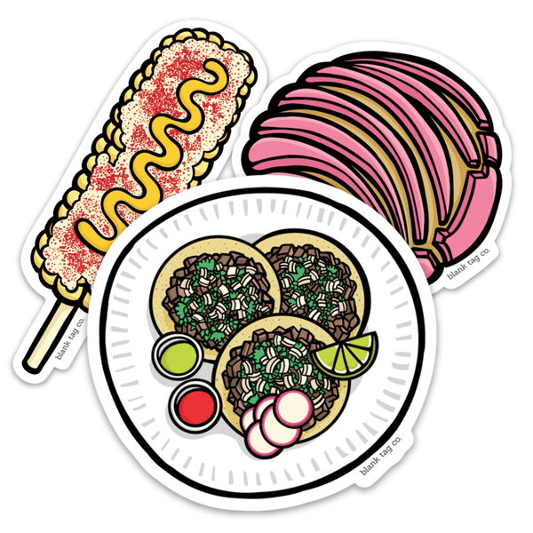Comida Callejera Sticker Bundle