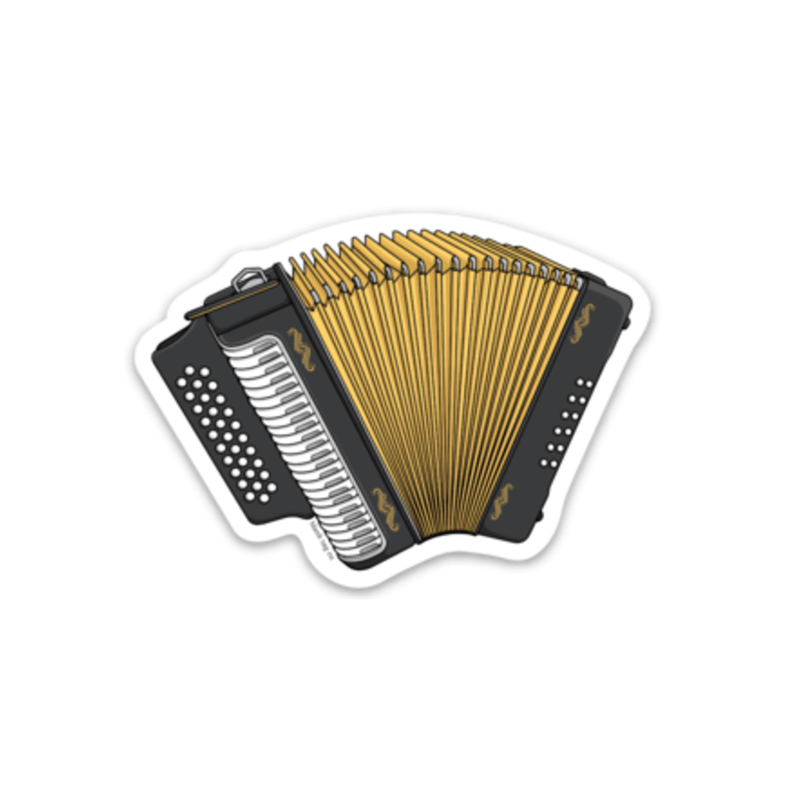 The Accordion Sticker - Product Image