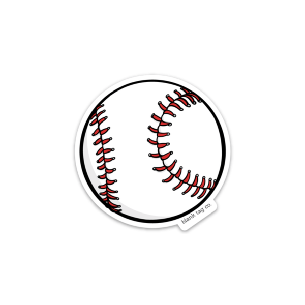 The Baseball Sticker - Product Image