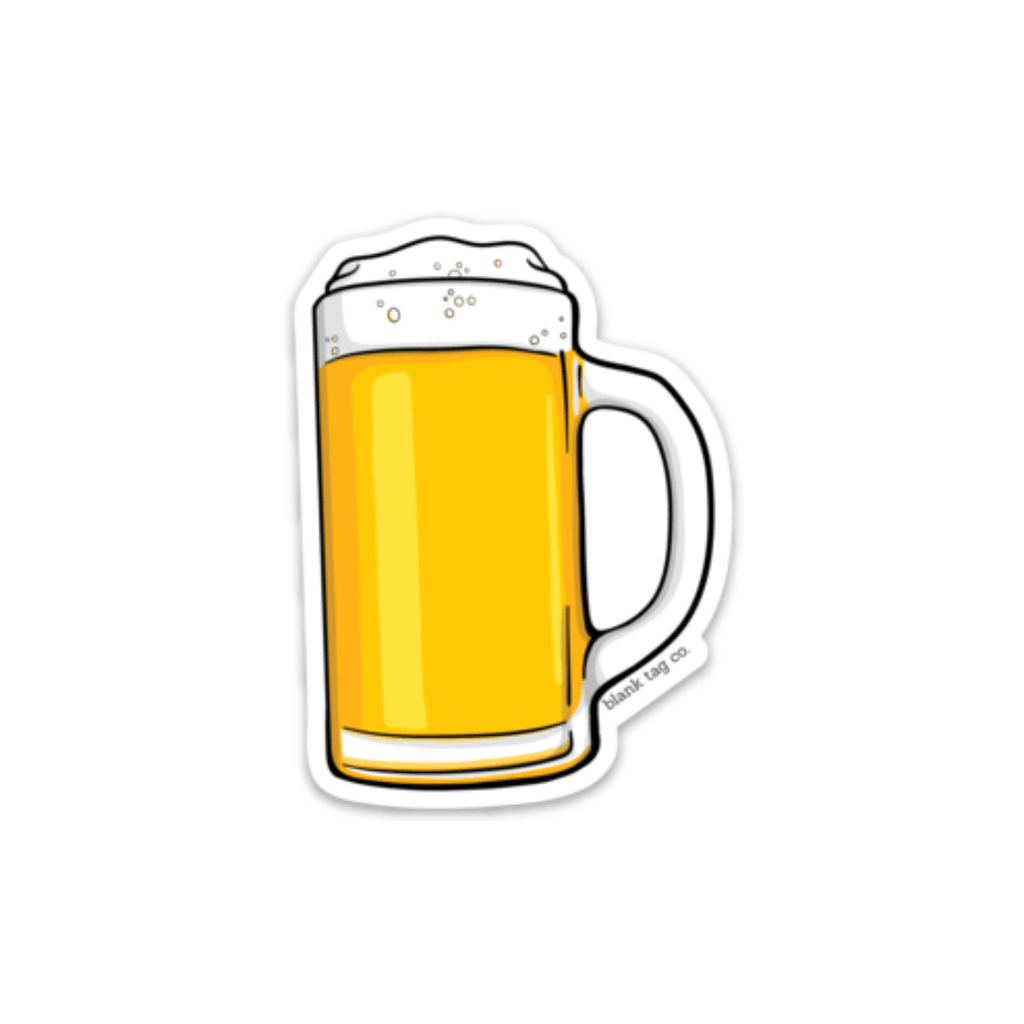 The Beer Sticker  U2013 Blank Tag Co