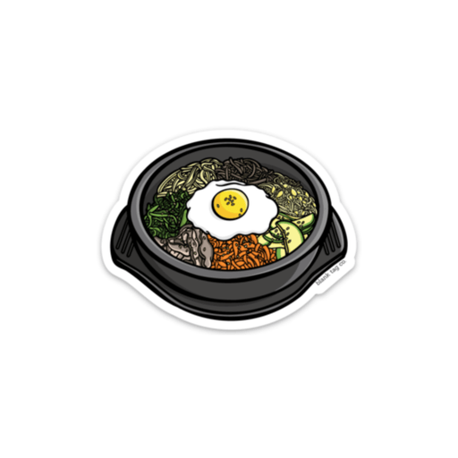 The Bibimbap Sticker - Product Image