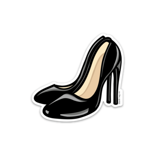 The Black High Heels Sticker - Product Image