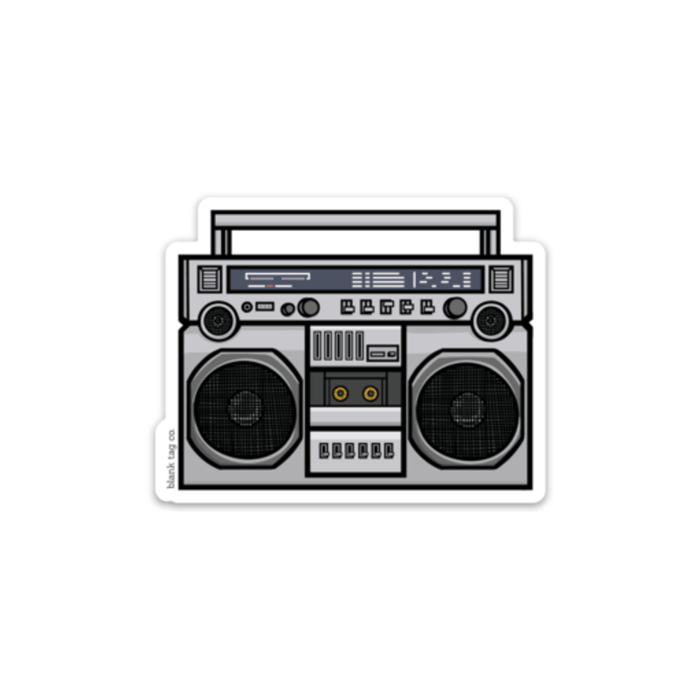 The Boombox Sticker - Product Image