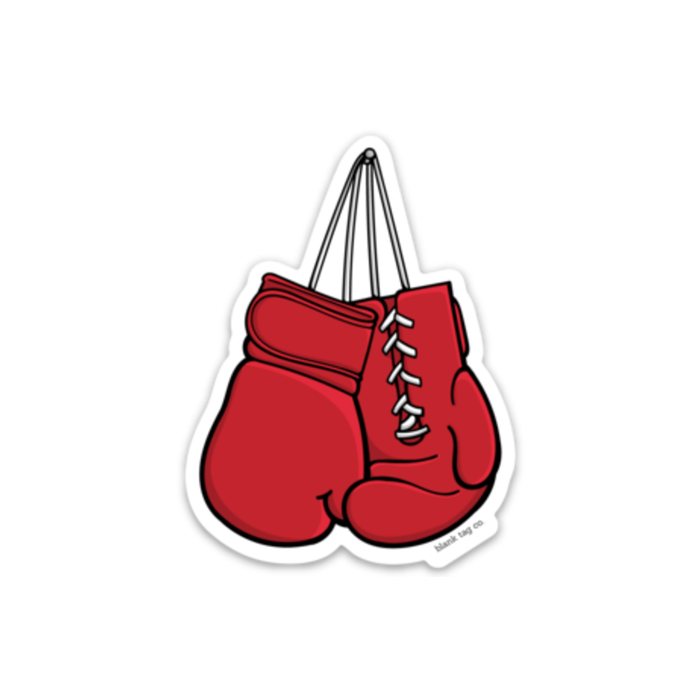 The Boxing Gloves Sticker - Product Image