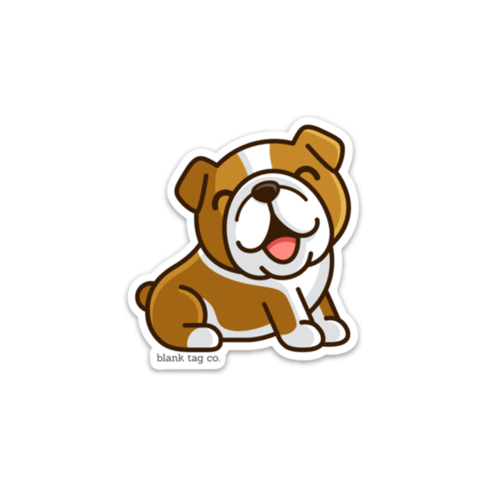 The Bulldog Sticker - Product Image