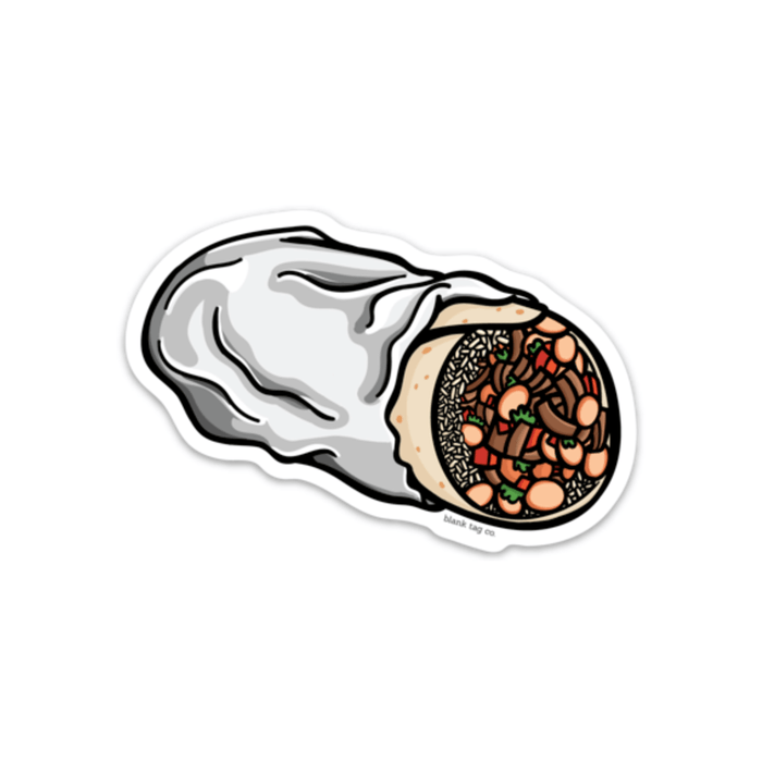 The Burrito Sticker - Product Image