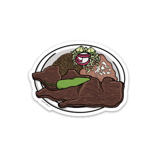 The Carne Asada Sticker - Product Image