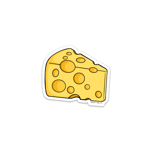 The Cheese Sticker - Product Image