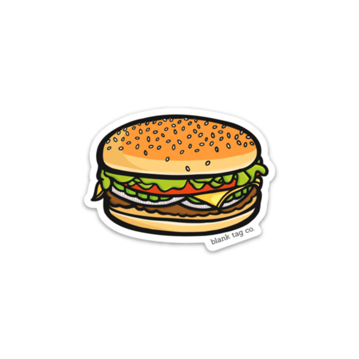 The Cheeseburger Sticker - Product Image