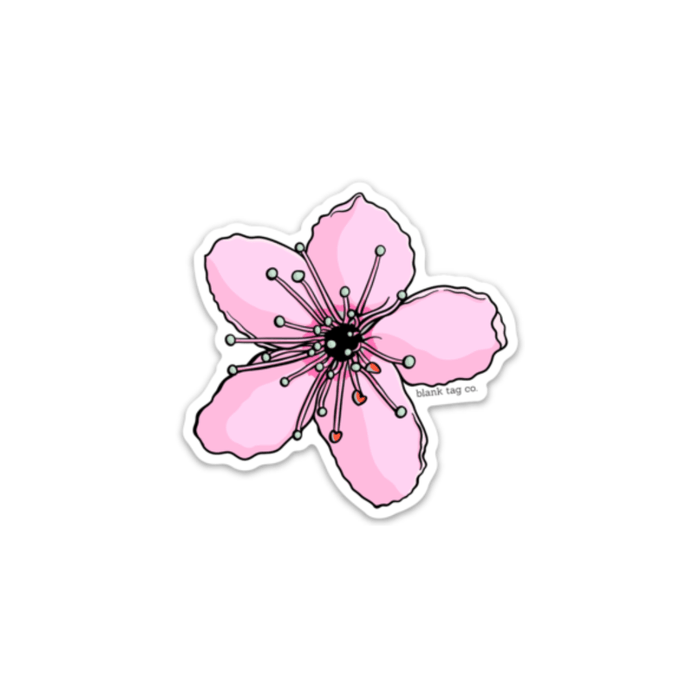 The Cherry Blossom Sticker - Product Image