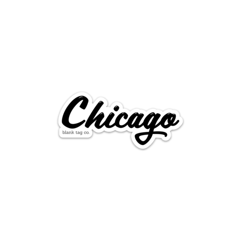 The Chicago Sticker - Product Image