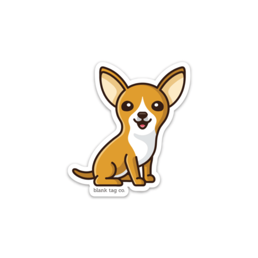 The Chihuahua Sticker - Product Image