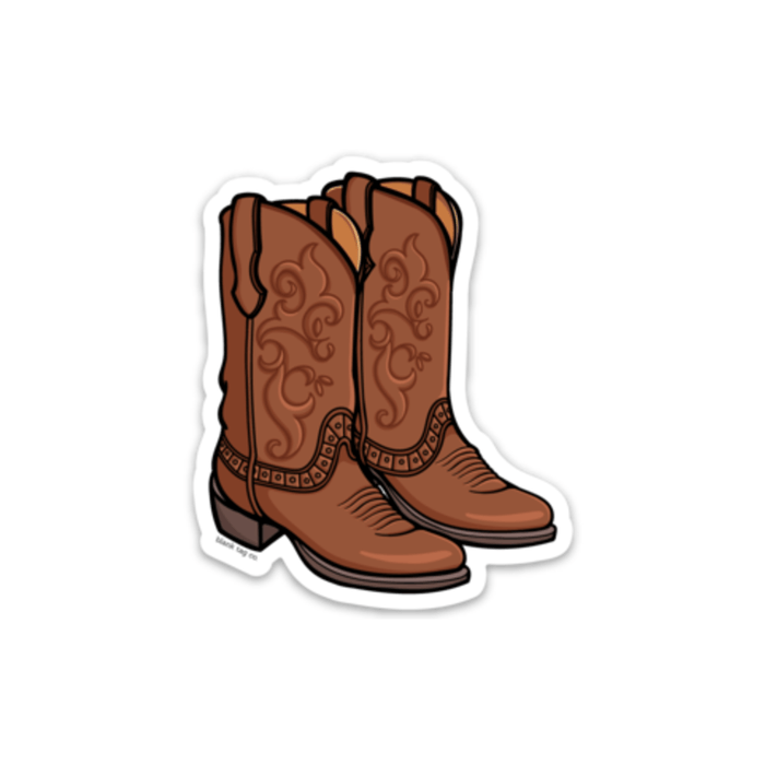 The Cowboy Boots Sticker - Product Image