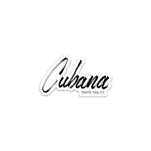 The Cubana Sticker - Product Image