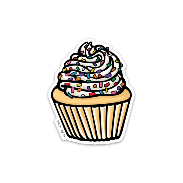 The Cupcake Sticker - Product Image