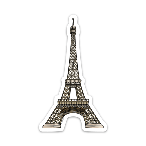 The Eiffel Tower Sticker - Product Image