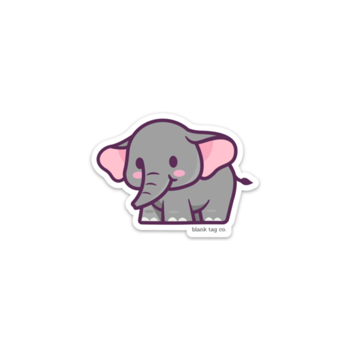 The Elephant Sticker - Product Image