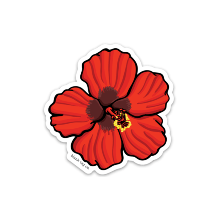 The Flor De Maga Sticker - Product Image