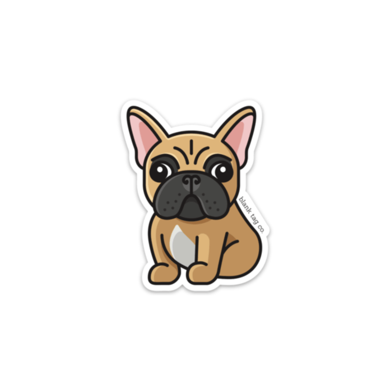 The French Bulldog Sticker - Product Image