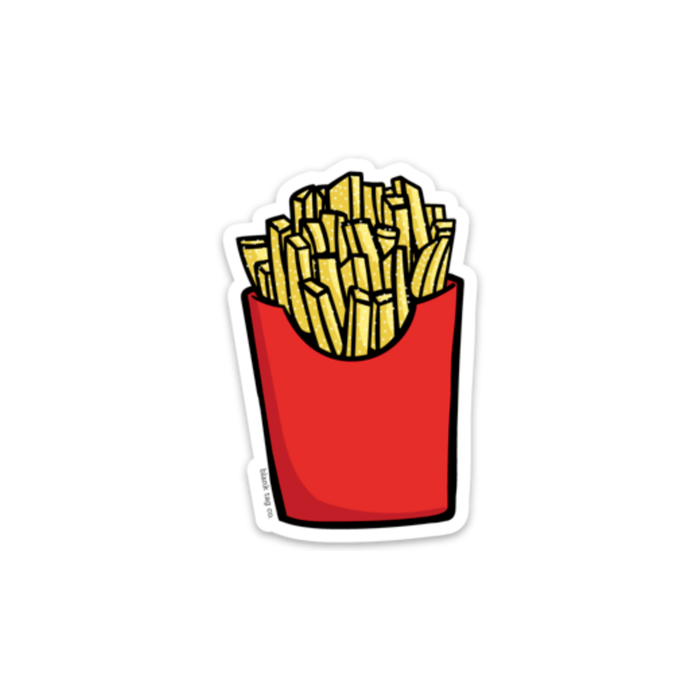 The French Fries Sticker - Product Image