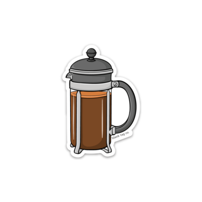 The French Press Sticker - Product Image