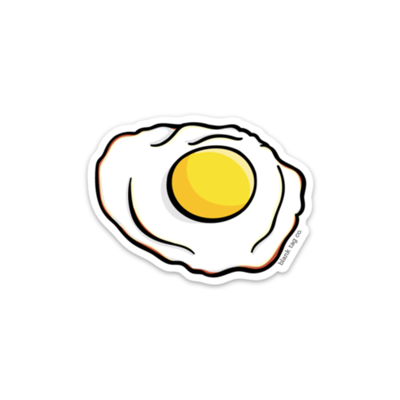 The Fried Egg Sticker - Product Image