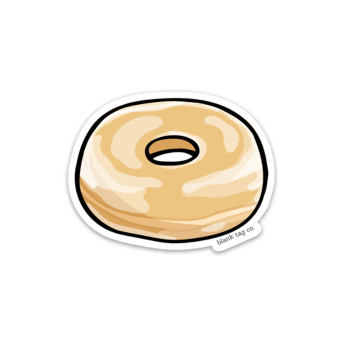 The Glazed Donut Sticker - Product Image