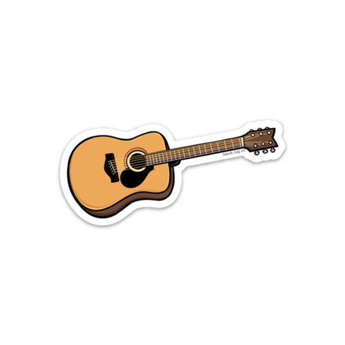 The Guitar Sticker - Product Image