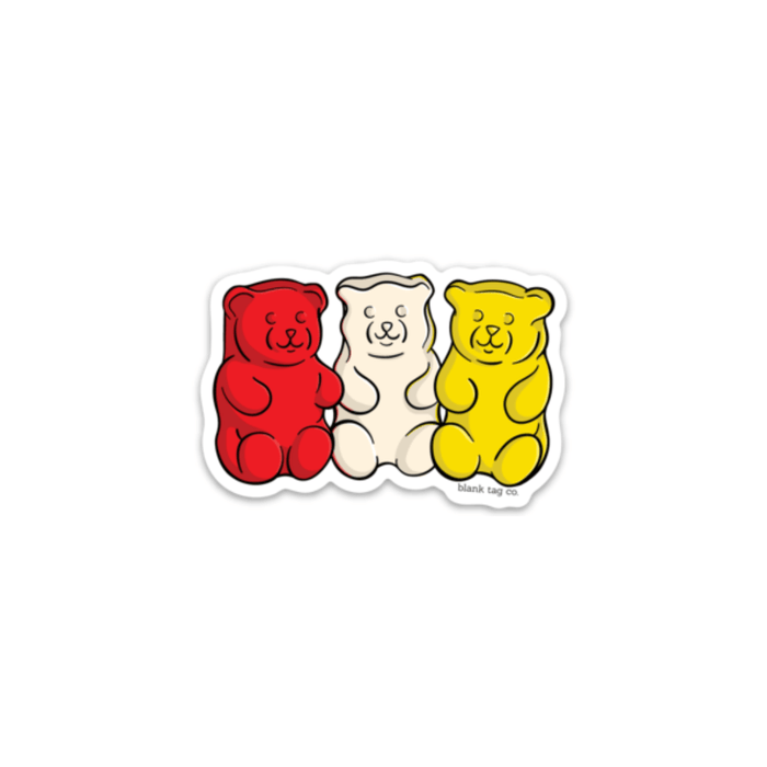The Gummy Bears Sticker - Product Image