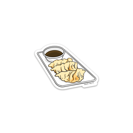 The Gyoza Sticker - Product Image