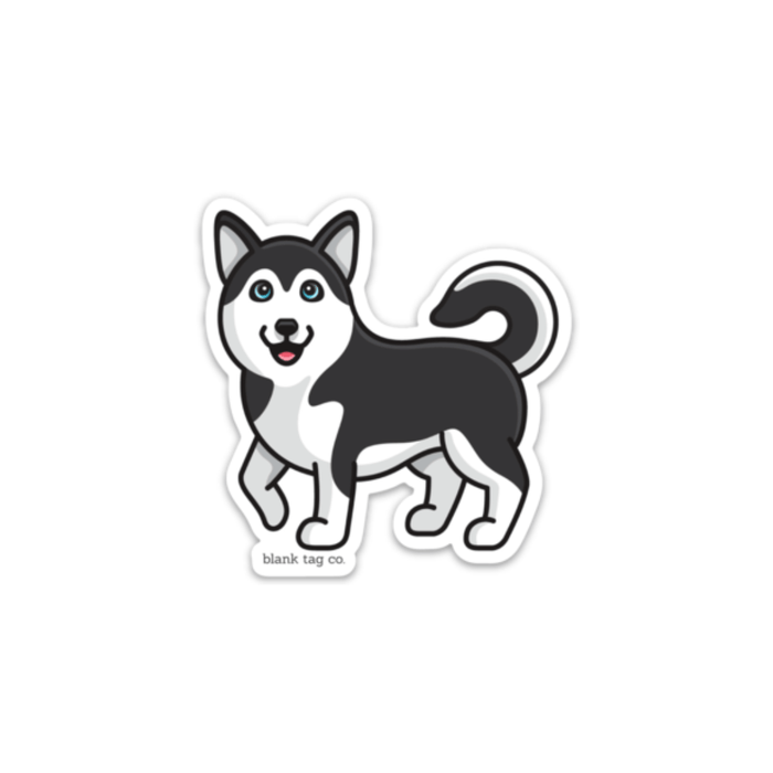 The Husky Sticker - Product Image
