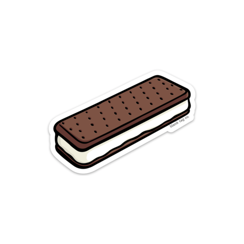 The Ice Cream Sandwich Sticker - Product Image