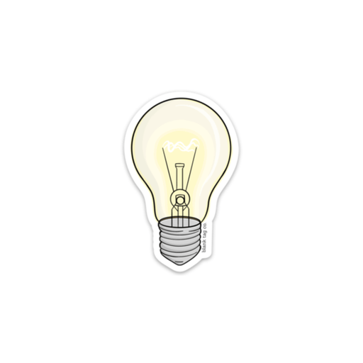 The Lightbulb Sticker - Product Image