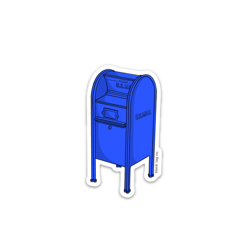 The Mailbox Sticker - Product Image