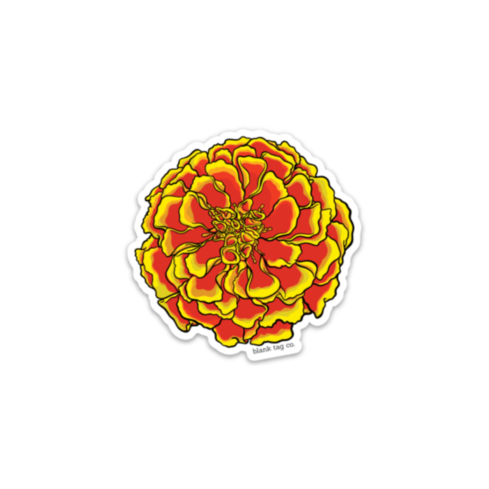 The Marigold Sticker - Product Image