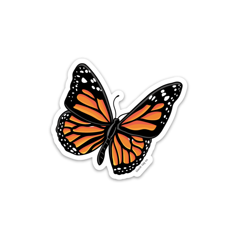 The Monarch Butterfly Sticker - Product Image