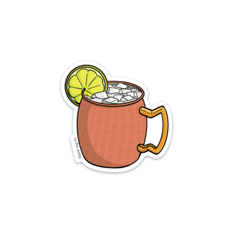 The Moscow Mule Sticker - Product Image