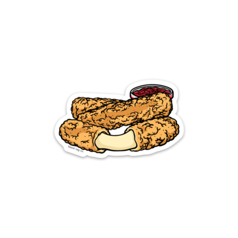 The Mozzarella Sticks Sticker - Product Image