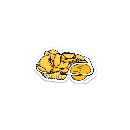 The Nachos With Cheese Sticker - Product Image