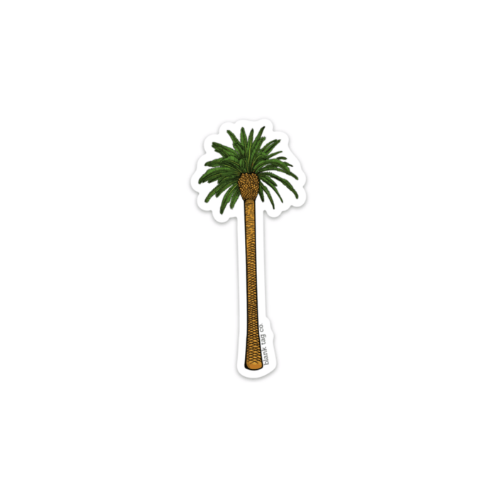 The Palm Tree Sticker - Product Image