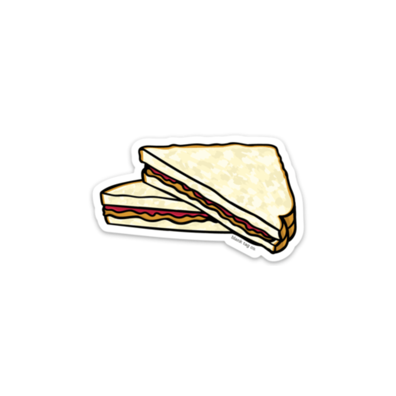 The Peanut Butter & Jelly Sticker - Product Image