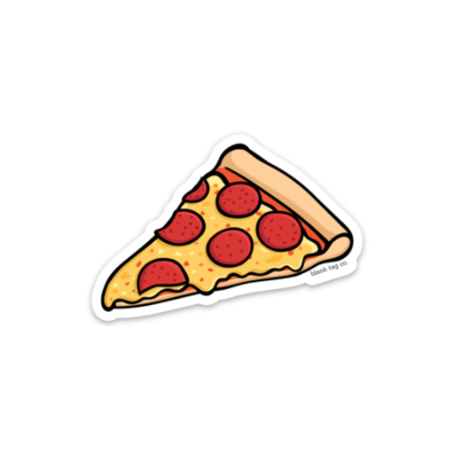 The Pepperoni Pizza Slice Sticker - Product Image