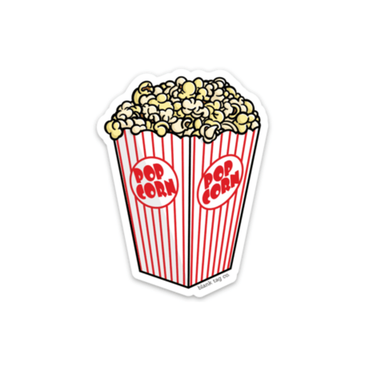 The Popcorn Sticker - Product Image