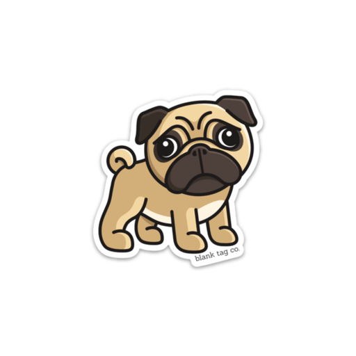 The Pug Sticker - Product Image