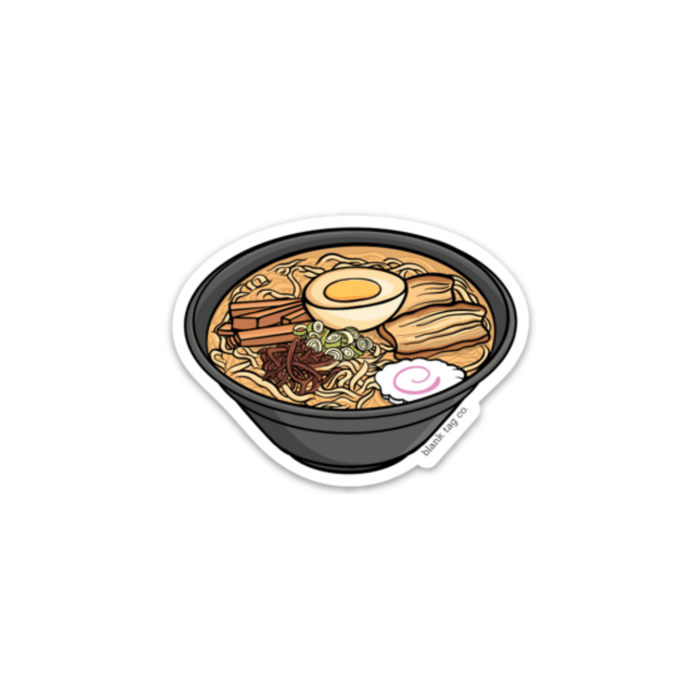 The Ramen Sticker  U2014 Blank Tag Co