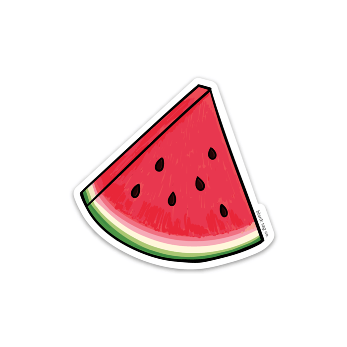 The Sandia Sticker Image - Product Outline