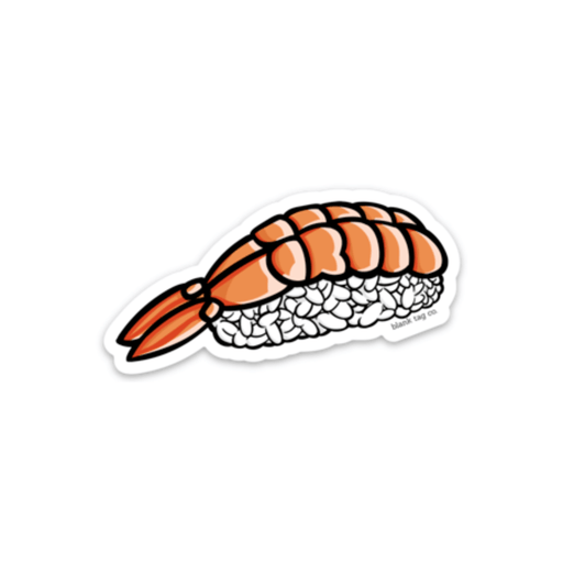 The Shrimp Sushi Sticker - Product Image