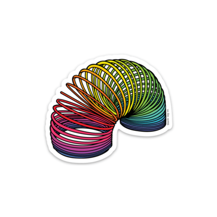 The Slinky Sticker - Product Image